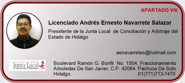 Licenciado Andrés Ernesto Navarrete Salazar