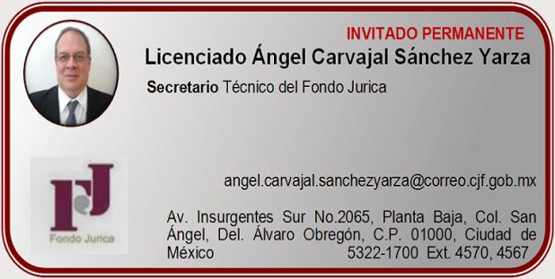 Licenciado Ángel Carvajal Sánchez Yarza