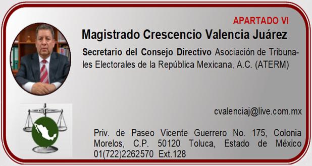 Magistrado Crescencio Valencia Juárez