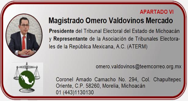 Magistrado Omero Valdovinos Mercado
