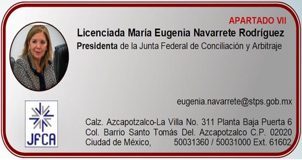 Licenciada María Eugenia Navarrete Rodríguez