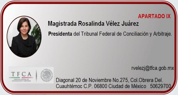 Magistrada Rosalinda Vélez Juárez