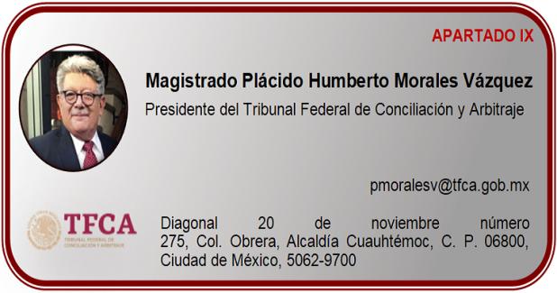Magistrado Plácido Humberto Morales Vázquez